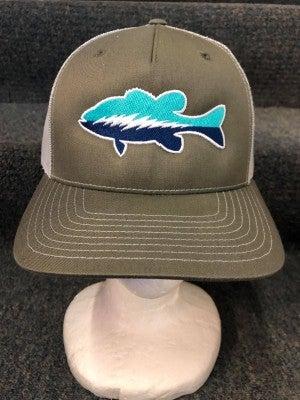 MEN'S GREEN FISH HAT