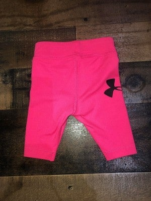 pink under armor leggings