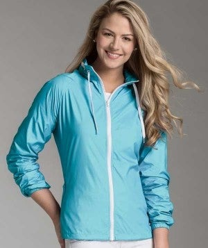 AQUA BLUE RAINCOAT