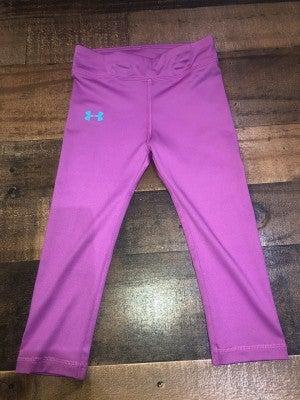 under armor purple leggings
