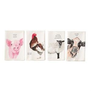 MUDPIE ANIMAL TOWELS