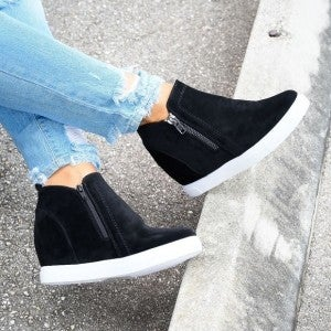 OUTWOOD HIDDEN WEDGE SNEAKERS (5 colors)