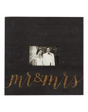 MUDPIE BLACK MR & MRS FRAME