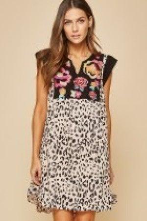 LEOPARD BOUTIQUE DRESS
