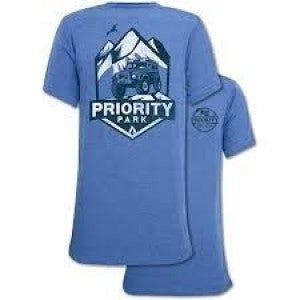 MEN'S PRIORITY MOUNTAIN COLOMBIA TEE SHIRT