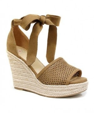 D TAN WEDGE *Final Sale*