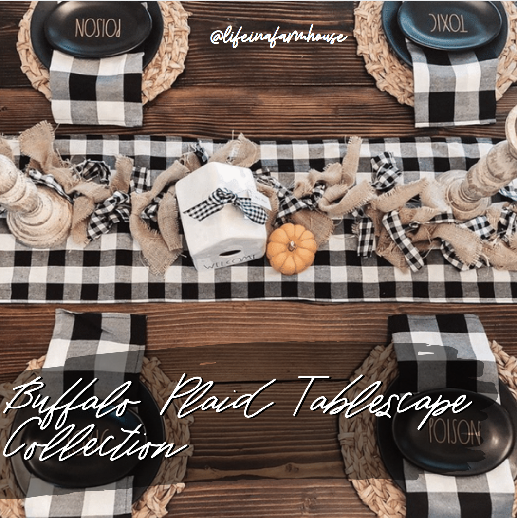Buffalo Plaid Tablescape Collection