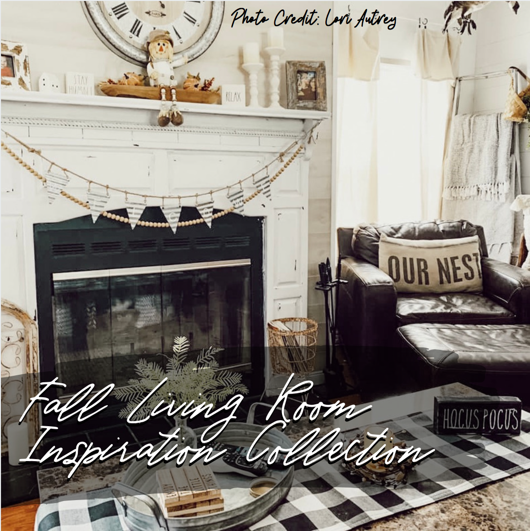 Fall Living Room Inspiration Collection