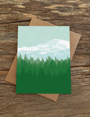 Mountains Blank Note Set