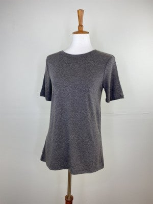 The New Classic Crewneck Tee in Charcoal