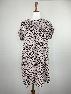 The Blushing Leopard Dress