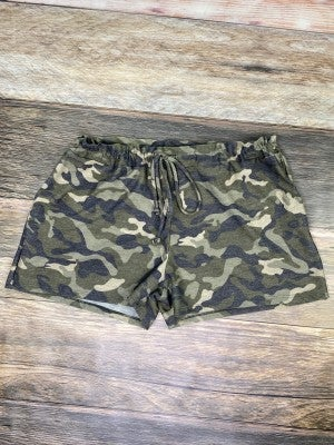 Chill Out Spring Camo Shorts