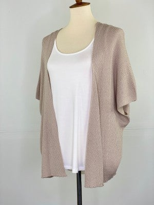 The Slouchy Summer Cardigan in Oatmeal