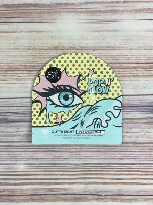 Outta Sight Pop Art Eye Mask