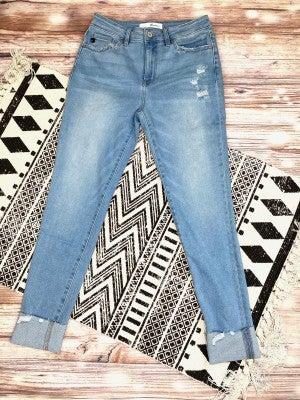 Sweet on Spring Light Wash Skinny Jeans