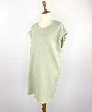Honeydew Short Sleeve Sweatshirt Dress