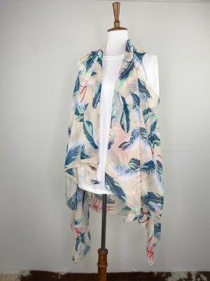Tropical Vest Kimono
