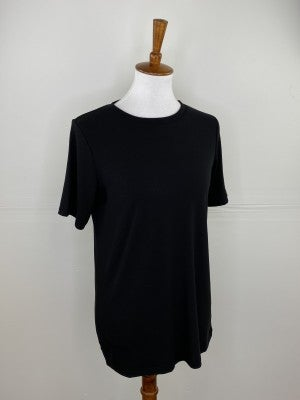 The New Classic Crewneck Tee in Black