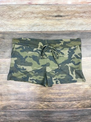 Chill Out Dark Camo Shorts
