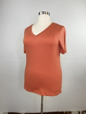 The Classic New V-Neck Tee in Tiger