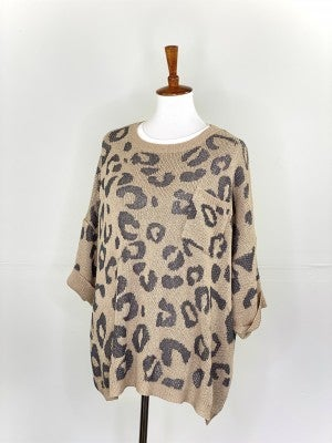 The Better Than Baskin Sweater in Taupe