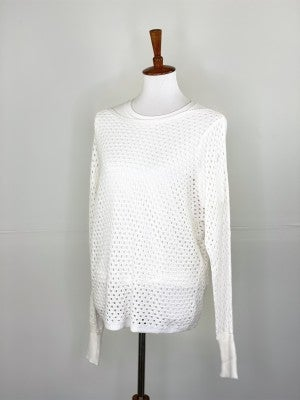 The Ophelia Sweater in Off-White