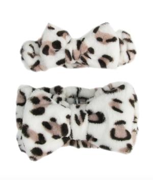 Little Darling and Me Leopard Makeup Headband