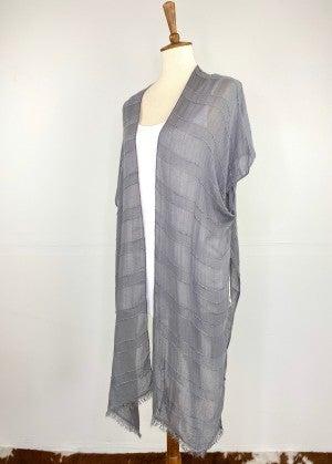 Slate Gray Kokomo Kimono