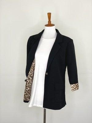 The Peek-A-Boo Leopard Blazer