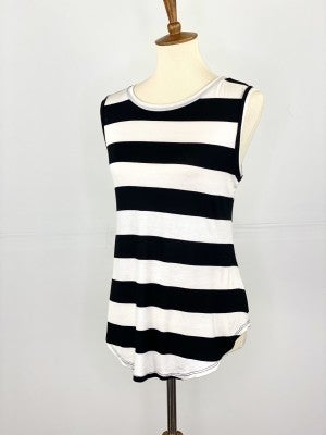 The Comfy Chic Striped Tank