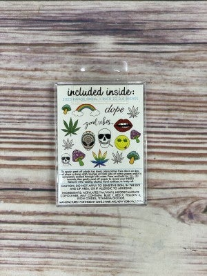 The Good Vibes Temporary Tattoo Pack