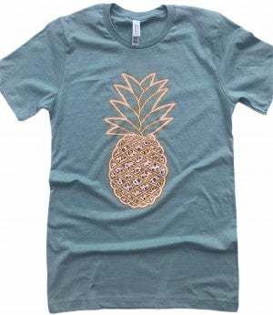 Perfectly Leopard Pineapple Tee