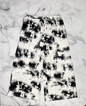 Smoke + Mirrors Tie Dye Lounge Capris