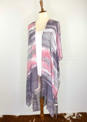 Astonishing Afterglow Kimono