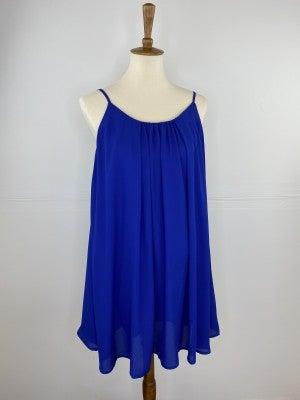 The Lovely Little Spaghetti Strap Dress in Royal Blue