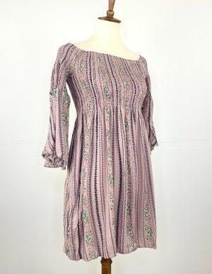 Take Me To The Flower Fields Midi Dress