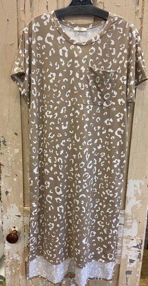 Learn To Live Midi Dress