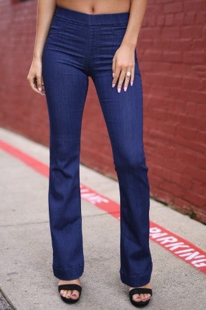 Can't Help But Flare Jeans
