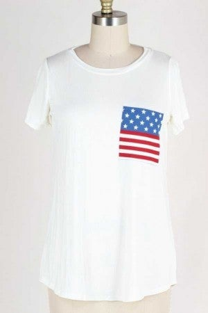 All American Summer Top
