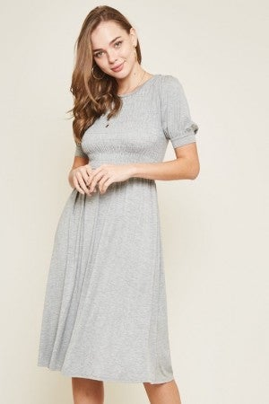 Brave Heart Midi Dress