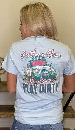 Play Dirty Graphic Tee