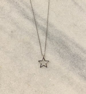 Open Your Star Necklace