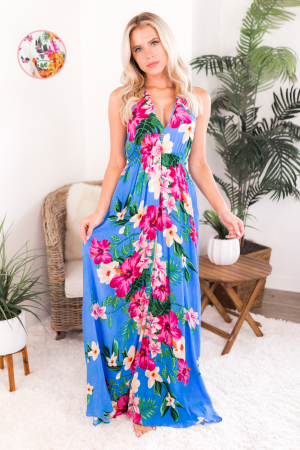 Tropical Wonders Maxi Dress
