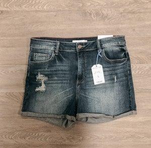 You Get My Love Shorts - Denim - 864