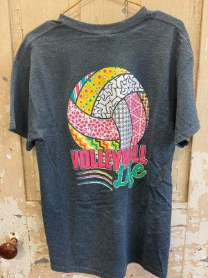 Volleyball Life Graphic Tee