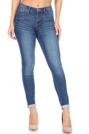 Roll Cuff Skinny Jean