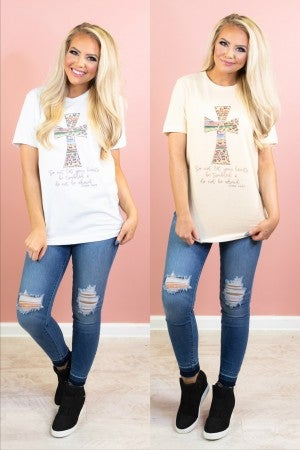 Do Not Be Afraid Graphic Tee