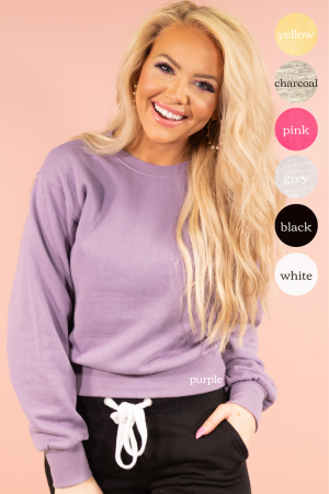 Comfortably Cute Sweatshirt