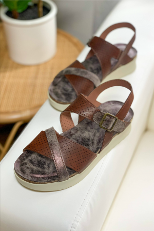 From Me To You Platform Sandal