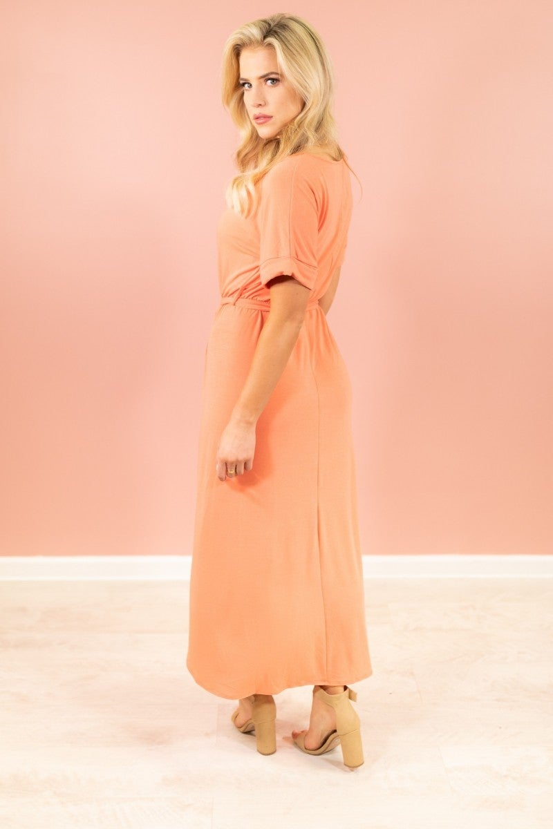 Catching Feelings Maxi Dress